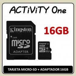TARJETA MEMORIA MICRO-SD 16...