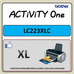 CARTUCHO PARA BROTHER LC223...