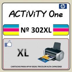 CARTUCHO PARA HP Nº 302XL...